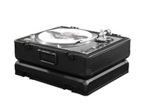 ODYSSEY BLACK KROM SERIES TURNTABLE CARRYING CASE