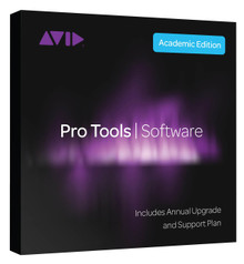 Avid Pro Tools  (educational) Annual Upgrade & supp  Plan (ilok) 1Year Lic for Student/teacher(Electronic Download)