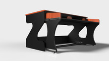 Zaor MIZA M STUDIO DESK - BLACK CHERRY