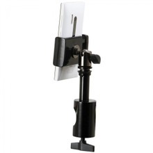 On Stage Mount Grip-On Universal Device Holder with u-mount Round Clamp