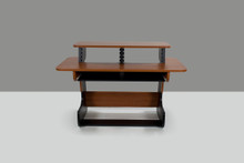 MIZA 61 STUDIO DESK -BLACK CHERRY