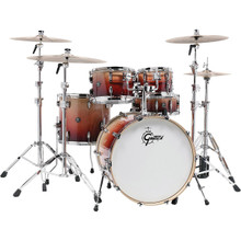 Gretsch Renown 5 Piece Drum Set (22/10/12/16/14sn) Natural Walnut