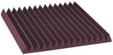 "2SF22BUR-HP  2"" Studiofoam Wedges (12-pack, 2'x2'x2"", Burgundy)"