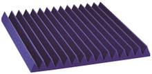 "2SF22PUR-HP  2"" Studiofoam Wedges (12-pack, 2'x2'x2"", Purple)"