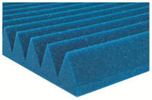 "Auralex 2"" Studiofoam Wedges (12-pack, 2'x4'x2"", Blue)"