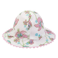 Reversible Sun Hat for Girls