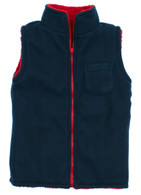 Reversible Navy/Red Gilet