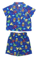 Treasure Island Shortie Pyjamas