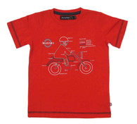 ELIAS 01 T-Shirt in Red