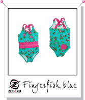 Finger Fish Blue/Pink Swimsuit