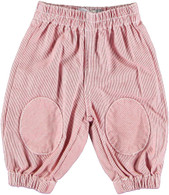LITTLE 17 Stripy Trousers in Rouge