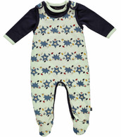 ONE 53 2-Piece Romper Set in Bay Blue