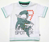 ELIAS 26 Shark Spotter T-Shirt in White