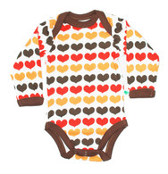 Autumn Hearts Onesie & Blanket Set