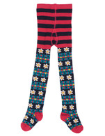 *25% Off!* Norah Tights in Daisy Fairisle