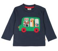 Little Discovery Bus Appliqué Top