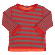 Reversible Stripy Sweatshirt