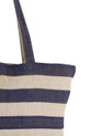 pacific tote wide stripes cu
