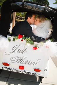 Bride and Groom Rickshaw Wedding Package