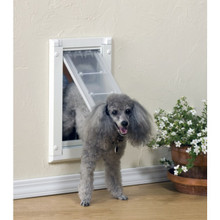 Patio Pacific Endura Flap™ Large Dual Flap Dog Doors For Walls
