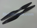 Pair 12x5.5 T-motor style Carbon fiber CW/CCW prop for RC Multi-Copter #3