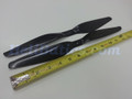 Pair 13x5.5 T-motor style Carbon fiber CW/CCW prop for RC Multi-Copter #4