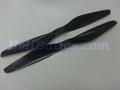 Pair 15x5.5 T-motor style Carbon fiber CW/CCW prop for RC Multi-Copter #6