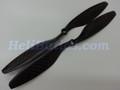 Pair 10x4.5 Carbon fiber CW/CCW propeller for Quadcopter Multi-Copt DJI XA hole #14