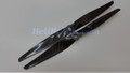 Pair 10x5 1050 Carbon fiber propeller 7.8mm hole Graupner style Tri/Quad/Hex/Octo/Multi-Copter #27