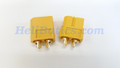 Pair XT60 T-shape Male/Female Bullet Connectors Plugs For RC Battery