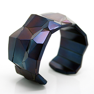 David Choi's Faceted Bridge Cuff