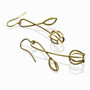 Gold Budding Earrings, Modern Art Jewelry by Liaung-Chung Yen