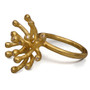 Starburst Gold Ring, Modern Art Jewelry by Liaung-Chung Yen