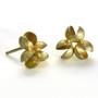 Flourishing Cluster Earrings, Modern Art Jewelry by Liaung-Chung Yen