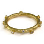 Twig Ring, Yellow Gold, Modern Art Jewelry by Liaung-Chung Yen