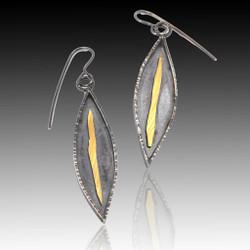 Jacquie Earrings, Handmade Art Jewelry by Lori Gottlieb