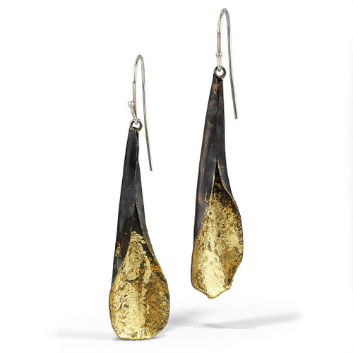 Cala Earrings, Handmade Art Jewelry by Lori Gottlieb