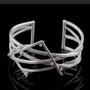 Random Order Large Cuff, Contemporary Jewelry by Maressa Tosto Merwarth