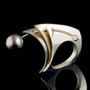 Fall Away Ring, Contemporary Jewelry by Maressa Tosto Merwarth
