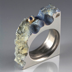 Earnestly Ring, Unique Art Jewelry by Stefan Alexandres