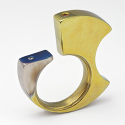Earnestly Ring v2, Unique Art Jewelry by Stefan Alexandres