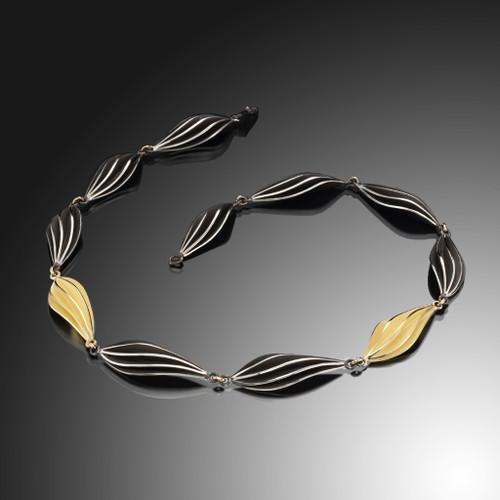 Mist Necklace, Modern Art Jewelry by Samantha Freeman