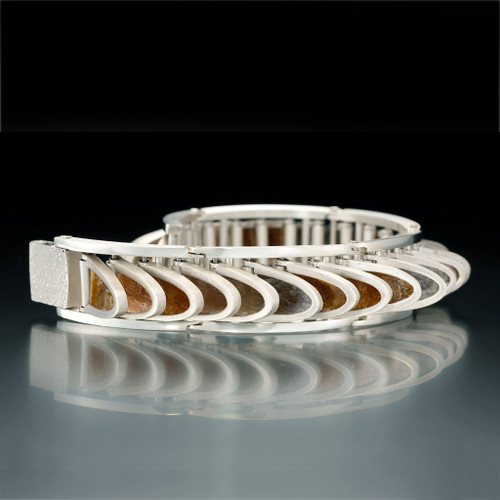 Flapper Bracelet, Contemporary Jewelry by Samantha Freeman