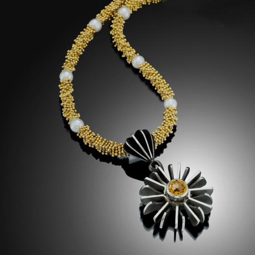 Pangolin Pendant by Samantha Freeman, Unique Art Jewelry