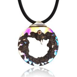 Vivification Pendant, Modern Art Jewelry, Stefan Alexandres