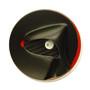 Black Hood View Brooch, Contemporary 3D Brooch by David LaPlantz