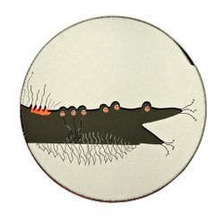Ant Eater Brooch, Contemporary 3D Brooch by David LaPlantz