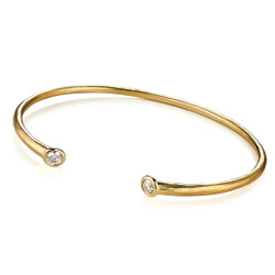 Whisper Cuff Bracelet; Handmade Rustic Modern Jewelry by Ayesha Mayadas