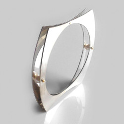 Double Embrace Bangle, Contemporary Jewelry by Maressa Tosto Merwarth