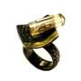 Tresor Ring, Handmade Art Jewelry by Deborah Vivas